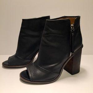 Kelsi Dagger 'Bushwick' Peep-Toe Ankle Boots